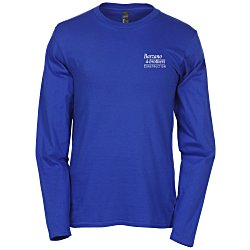 View a larger, more detailed picture of the Hanes Nano-T 4 5 oz Long Sleeve - Colors