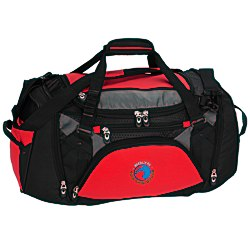 View a larger, more detailed picture of the Vertex Tech Duffel - 10-1 2 x 22 - Embroidered