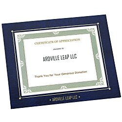 View a larger, more detailed picture of the Wrapped Edge Certificate Frame - 8 x 10