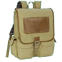 View a larger, more detailed picture of the Field & Co Cambridge Collection Laptop Backpack