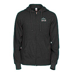 View a larger, more detailed picture of the Independent Trading Co 4 5 oz Full-Zip Hoodie - Screen