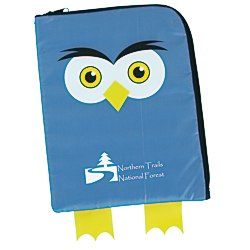View a larger, more detailed picture of the Paws and Claws Tablet Case - Owl