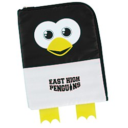 View a larger, more detailed picture of the Paws and Claws Tablet Case - Penguin