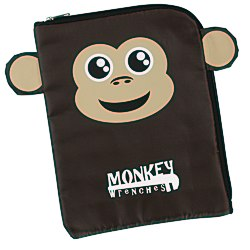 View a larger, more detailed picture of the Paws and Claws Tablet Case - Monkey