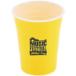 View a larger, more detailed picture of the Reusable Plastic Party Cup - 16 oz
