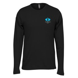 View a larger, more detailed picture of the Next Level Soft LS Thermal Tee - Men s - Embroidered