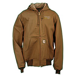 View a larger, more detailed picture of the Carhartt Thermal Lined Duck Active Jacket - 24 hr