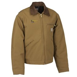 View a larger, more detailed picture of the Carhartt Duck Detroit Jacket - Blanket Lined - 24 hr
