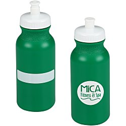 View a larger, more detailed picture of the ID Sport Bottle with Push Pull Lid - 20 oz