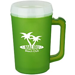 View a larger, more detailed picture of the Thermo Insulated Mug - 22 oz - Frosted