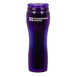 View a larger, more detailed picture of the Monroe Travel Tumbler - 14 oz - Closeout