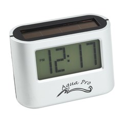 View a larger, more detailed picture of the Ambi Solar Desk Alarm Clock - Closeout