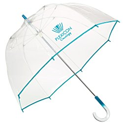 View a larger, more detailed picture of the Colored Bubble Umbrella - 48 Arc