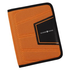 View a larger, more detailed picture of the MicroMesh Compact Journal - Black - Closeout