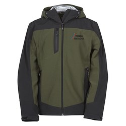 View a larger, more detailed picture of the Kangari Hooded Softshell Jacket - Men s