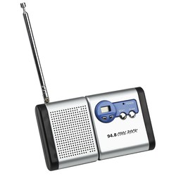 View a larger, more detailed picture of the Econo Detachable FM Radio - Closeout