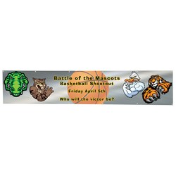 View a larger, more detailed picture of the Value Outdoor Banner - 2 x 10 - 24 hr