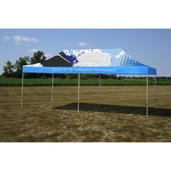 View a larger, more detailed picture of the 10 x 20 Deluxe Event Tent - Full Color
