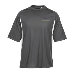 View a larger, more detailed picture of the A4 Cooling Performance Colorblock Tee - Men s - Emb