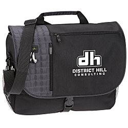 View a larger, more detailed picture of the Verve Checkpoint-Friendly Laptop Messenger Bag -24 hr