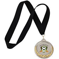 View a larger, more detailed picture of the Victory Medal - Black - 24 hr
