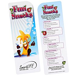 View a larger, more detailed picture of the Just the Facts Bookmark - Fun Snacks