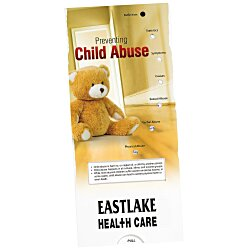 View a larger, more detailed picture of the Child Abuse Prevention Pocket Slider