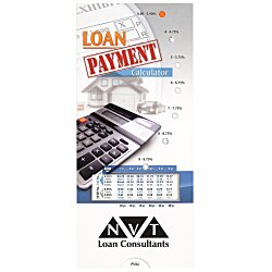 View a larger, more detailed picture of the Loan Payment Calculator Pocket Slider
