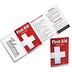 View a larger, more detailed picture of the First Aid Key Points