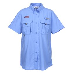 View a larger, more detailed picture of the Columbia Bahama Short Sleeve Shirt - Ladies