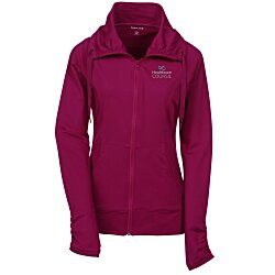 View a larger, more detailed picture of the Sport-Wick Stretch Full Zip Jacket - Ladies