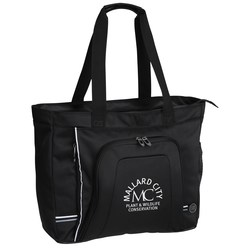 View a larger, more detailed picture of the Cutter & Buck Tour Deluxe Laptop Tote