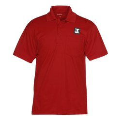 View a larger, more detailed picture of the Micropique Sport-Wick Pocket Polo - Men s