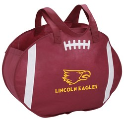 View a larger, more detailed picture of the Football Tote - Overstock