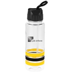 View a larger, more detailed picture of the Spirit Stripe Sport Bottle - 24 oz