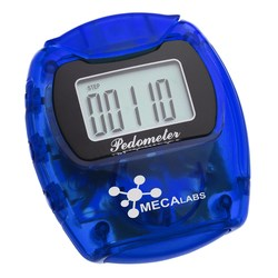 View a larger, more detailed picture of the Marathon Pedometer - Translucent