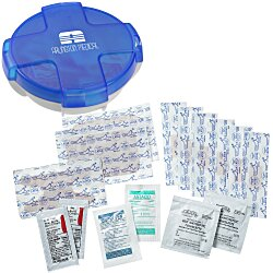 View a larger, more detailed picture of the Safe Care First Aid Kit - Translucent