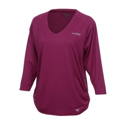 View a larger, more detailed picture of the OGIO Ladies Mini Stripe Dolman Shirt
