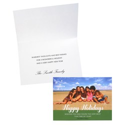 View a larger, more detailed picture of the Happy Holidays Photo Greeting Card