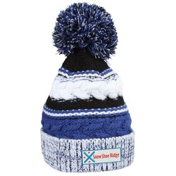 View a larger, more detailed picture of the Pom Pom Spectator Beanie