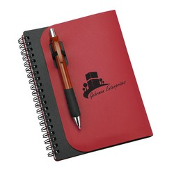 View a larger, more detailed picture of the Covert Notebook w Pen - Closeout