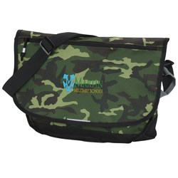 View a larger, more detailed picture of the Blaze Computer Messenger Bag - Camo - Embroidered