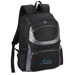 View a larger, more detailed picture of the Continental Checkpoint-Friendly Laptop Backpack - Emb