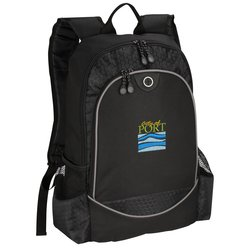 View a larger, more detailed picture of the Hive Laptop Backpack - Embroidered