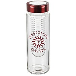 View a larger, more detailed picture of the Fruit Infuser Glass Bottle - 16 oz