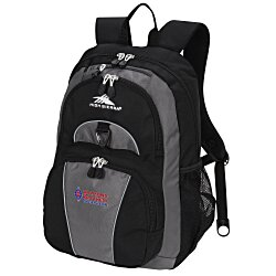 View a larger, more detailed picture of the High Sierra Enzo Backpack - Embroidered