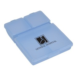 View a larger, more detailed picture of the Four-to-Go Pill Box - Closeout