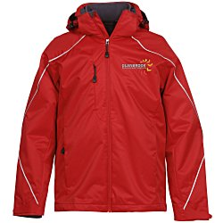 View a larger, more detailed picture of the Angle 3-In-1 Bonded Fleece Liner Jacket - Men s