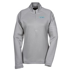View a larger, more detailed picture of the adidas Performance 1 2 Zip Training Pullover - Ladies - Emb