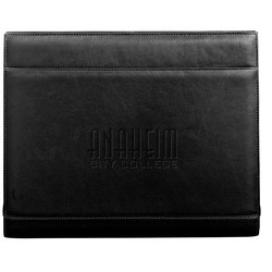 View a larger, more detailed picture of the Palazzo Top Grain Leather Zippered Portfolio